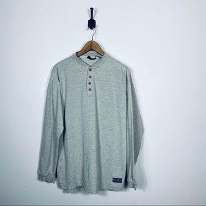 Patagonia Large Beige Long Sleeve Casual Shirt
